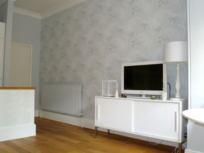 How To Wallpaper Behind A Radiator