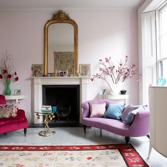 Feminine Living Room Ideas