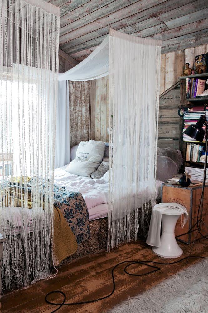Pedido de Criação de Quartos Norwegian-cabin-vintage-bedroom