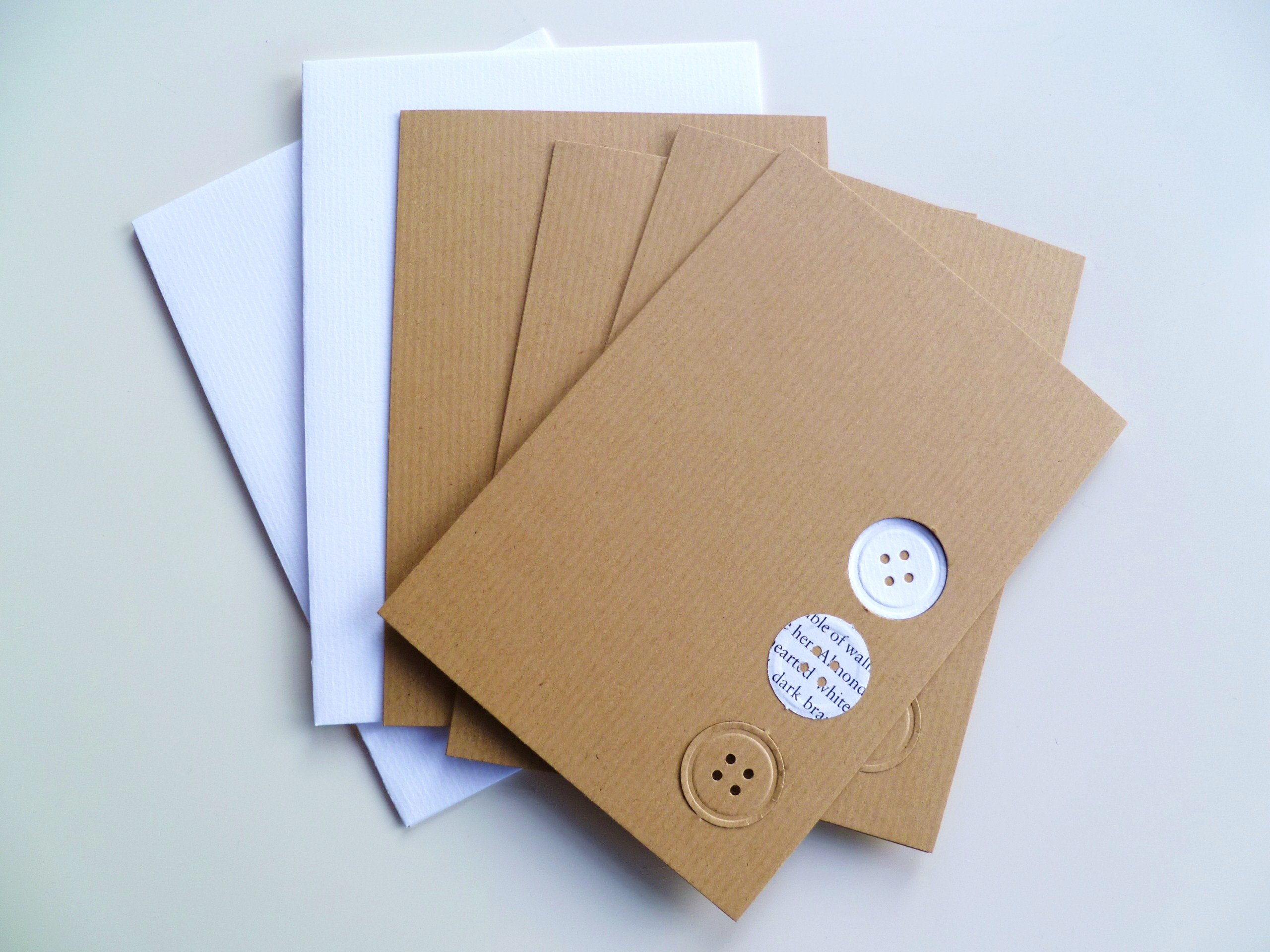 Easy Peasy Handmade Notecards Decorator 39 S Notebook