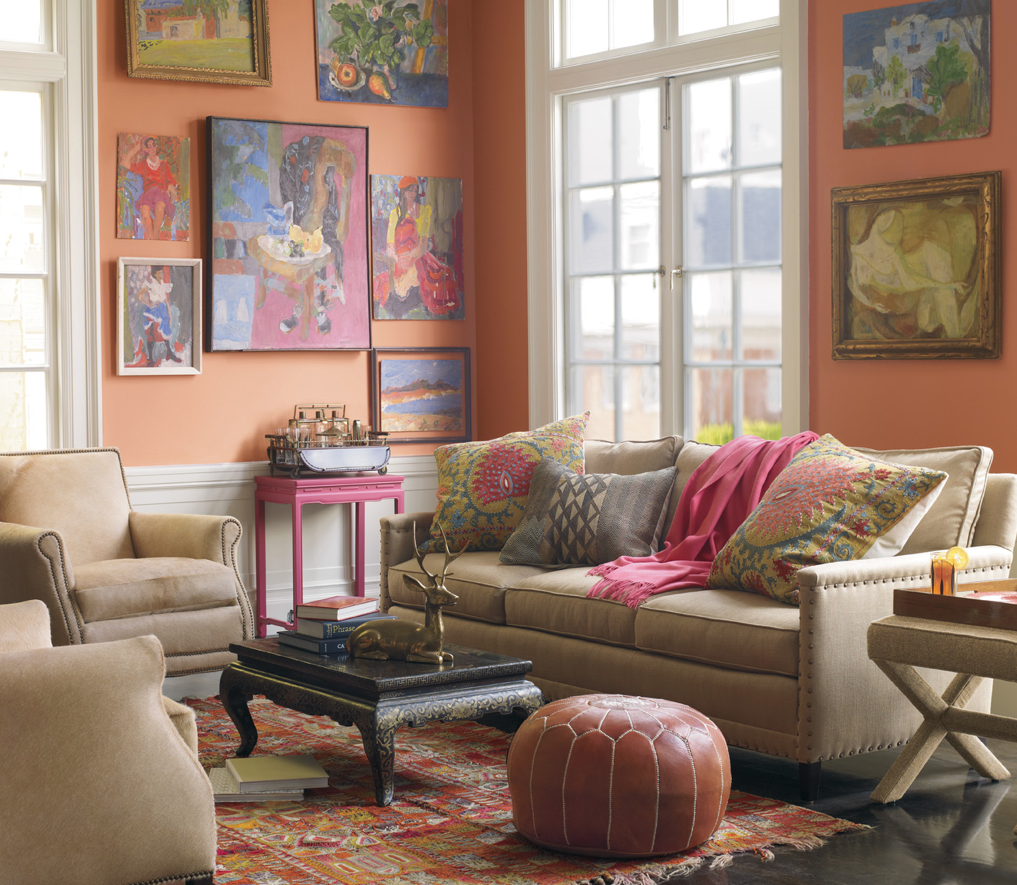 Ethnic living room decorator 39 s notebook blog - Decorating small spaces living room gallery ...