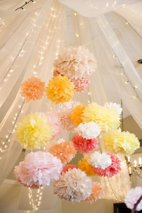 wedding poms