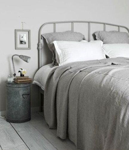 Grey Vintage Bedroom: If I Died And Went To Vintage Grey Heaven…