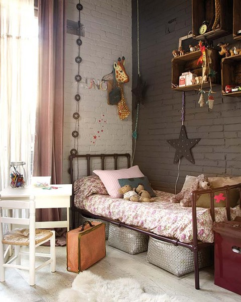 U is for underage aka kids 39 bedroom ideas decorator 39 s for Pink and grey kids room