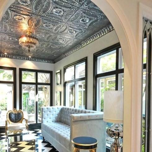 Image result for tin ceiling photos