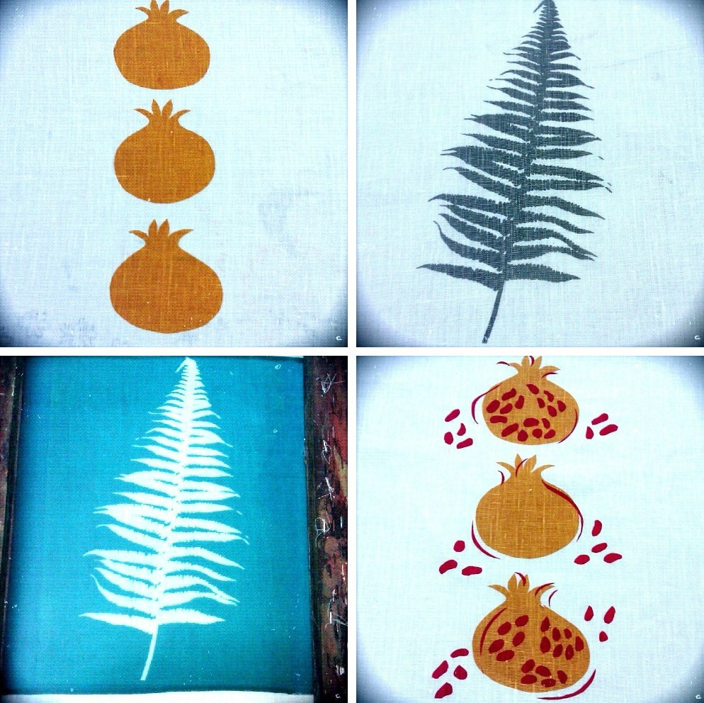 Decorator S Notebook Blog: Silkscreen Printing Snippets