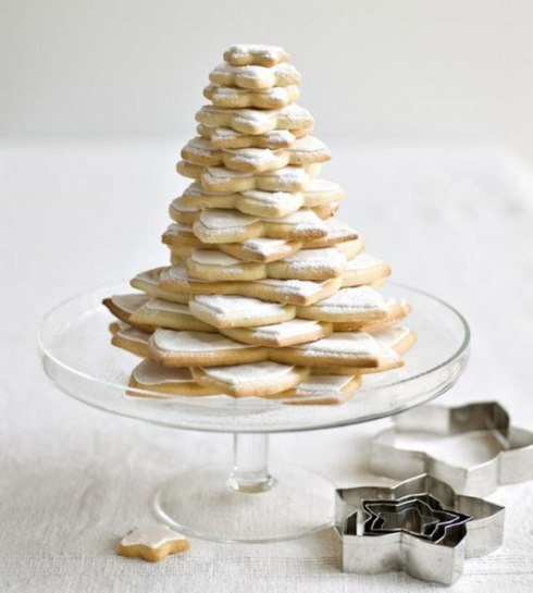 cookie star Christmas tree