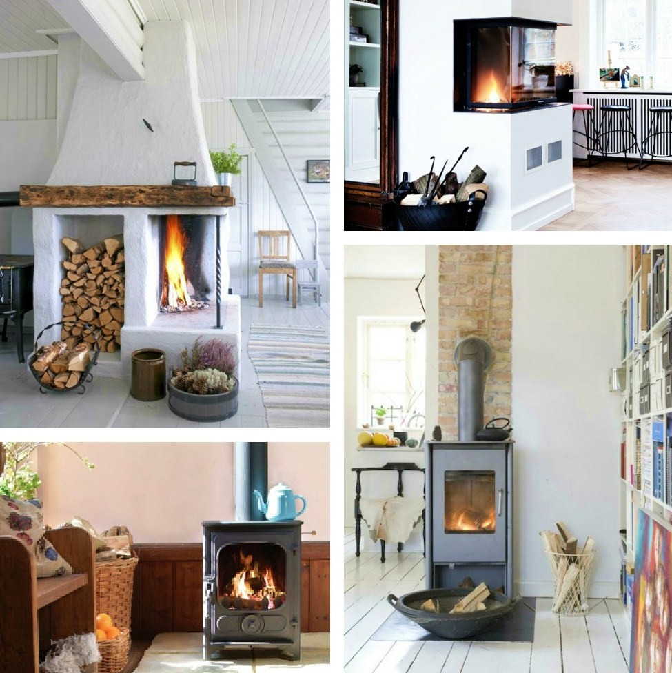 rooms with open fires