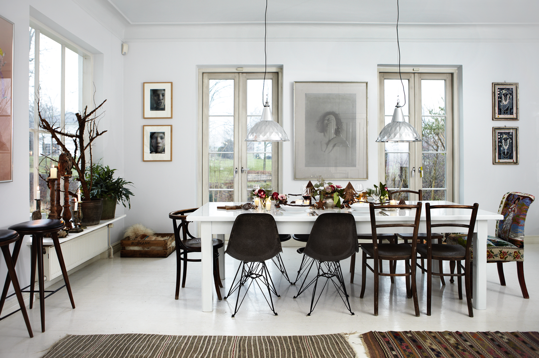 Danish Home Design Ideas: House Tour: White And Christmassy Danish Home