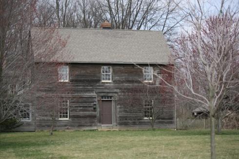 wooden farmhouse Ohio