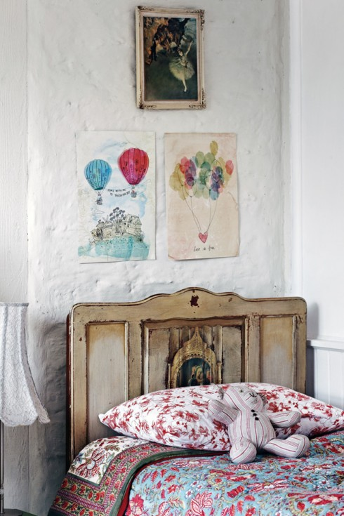 vintage kids bedroom