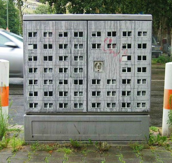 Berlin street art Evol