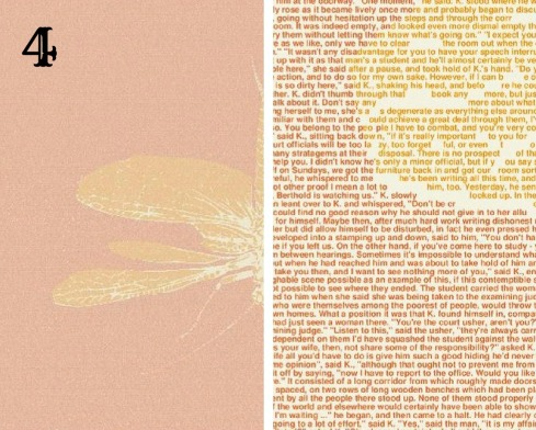 Book poster made from words by Litographs4