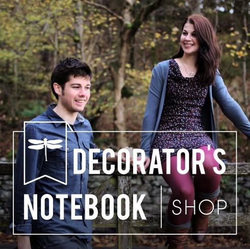 Decorator's Notebook Shop announcement