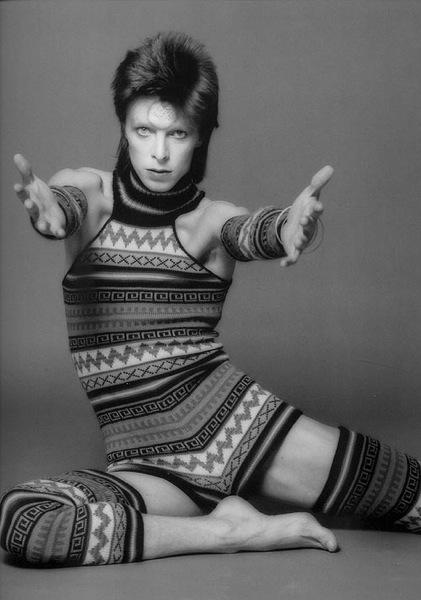 David Bowie as Ziggy Startdust Masayoshi Sukita