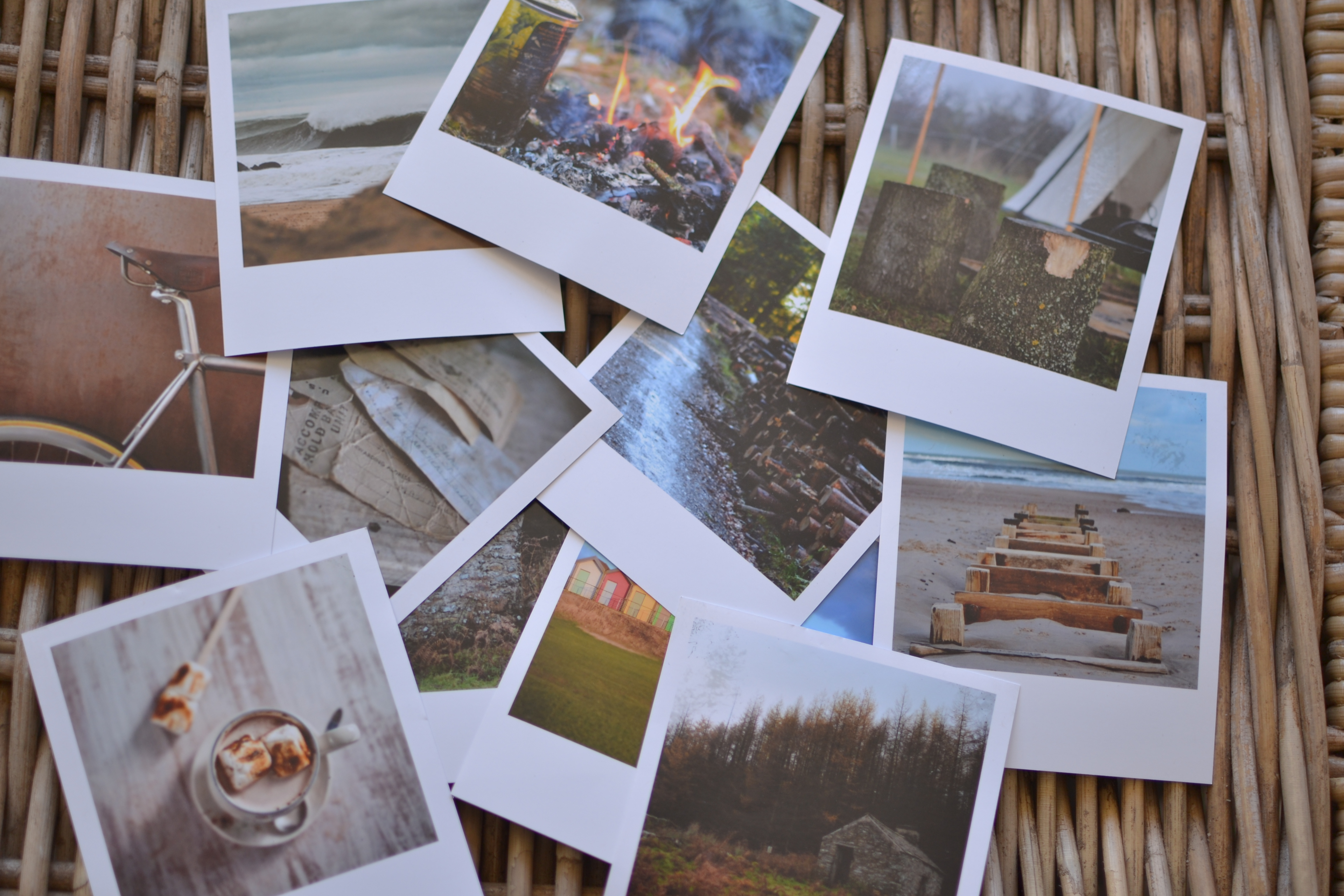 print any photo as a polaroid free template decorator s notebook