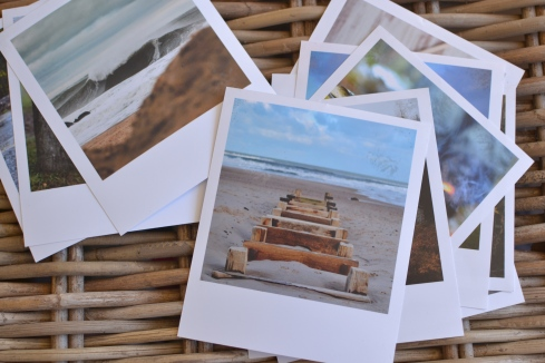Print any digital photo as a polaroid free template from Decorators Notebook blog