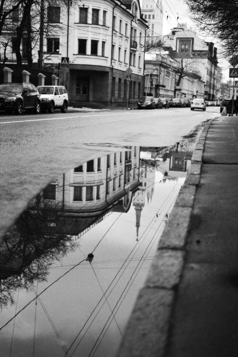 Russian street scene