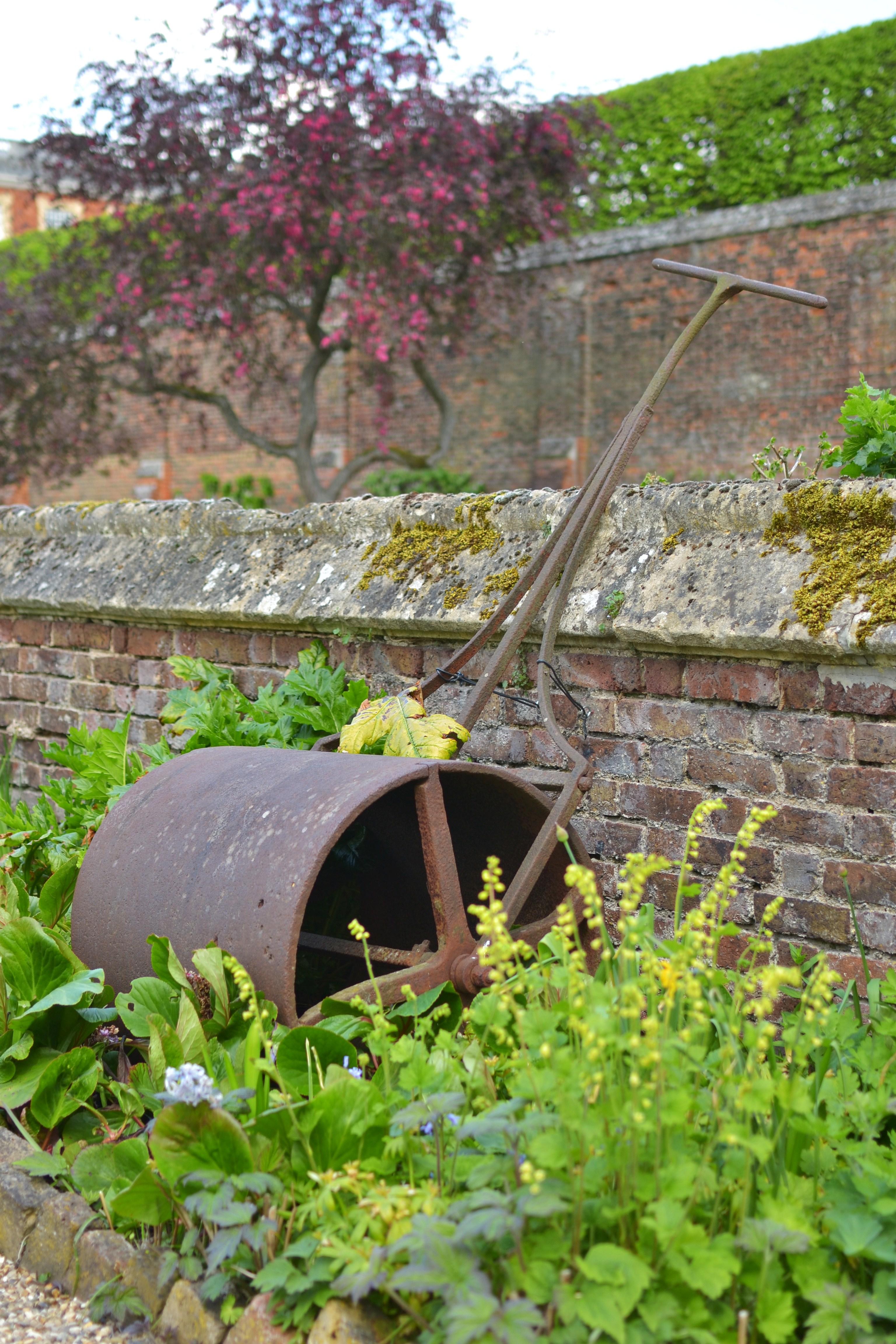 Hampton Court Palace Gardens roller