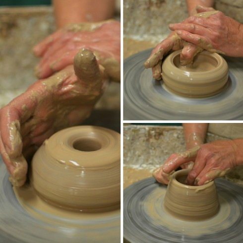 how to throw a clay pot