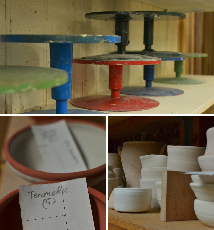 pottery studio details