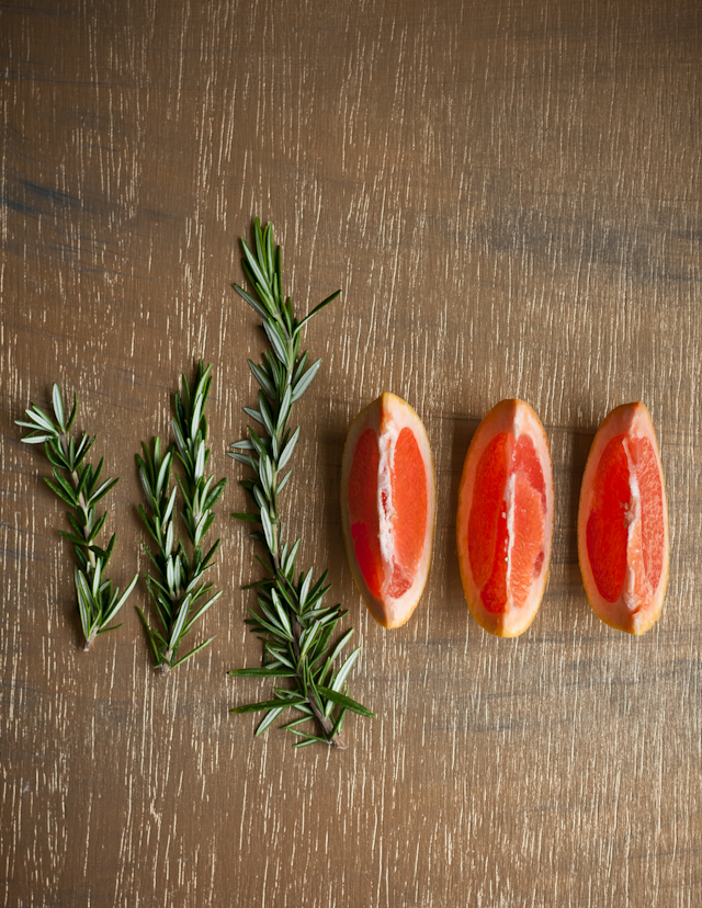 pink grapefruit and rosemary desserts for breakfast blog