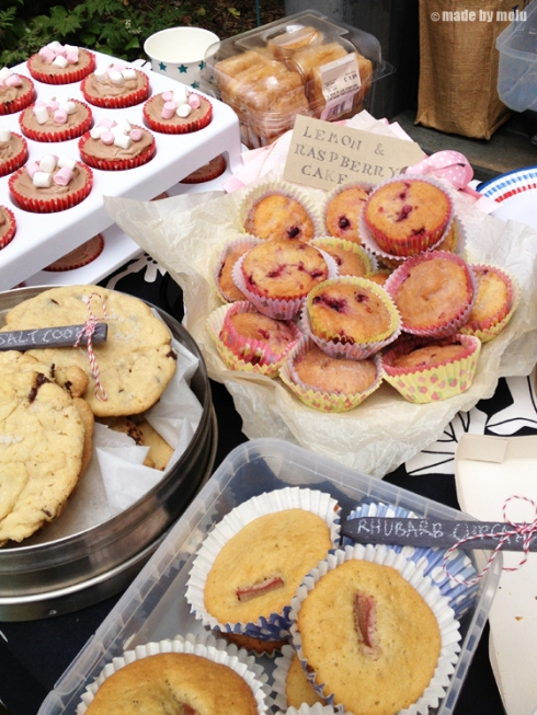 cakes at blognic 2013