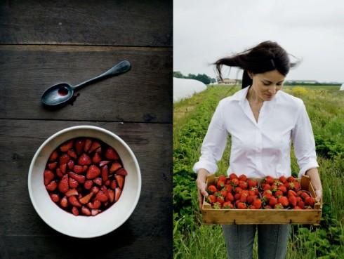 manger blog picking strawberries