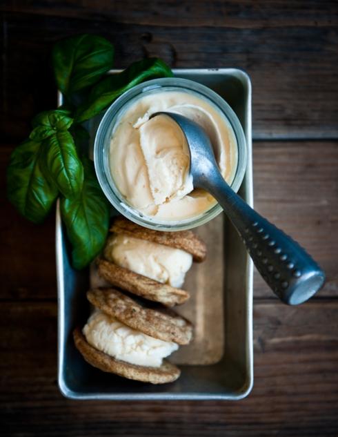peach ice cream sandwiches desserts for breakfast blog