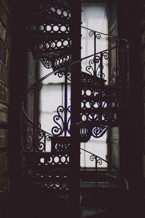 spiral staircase dublin library