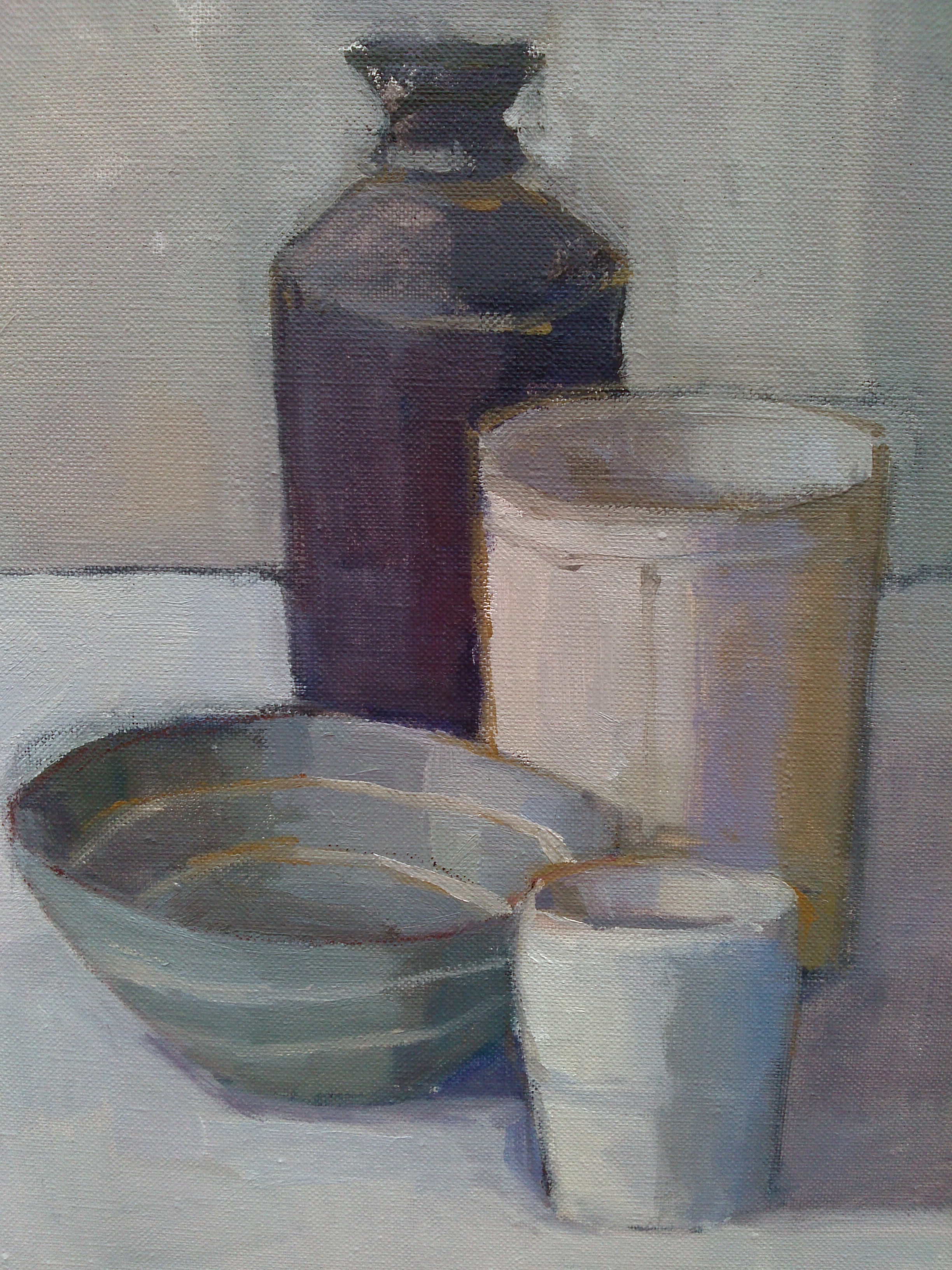 sarah spackman still life in oil