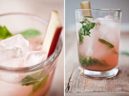rhubarb mojito recipe
