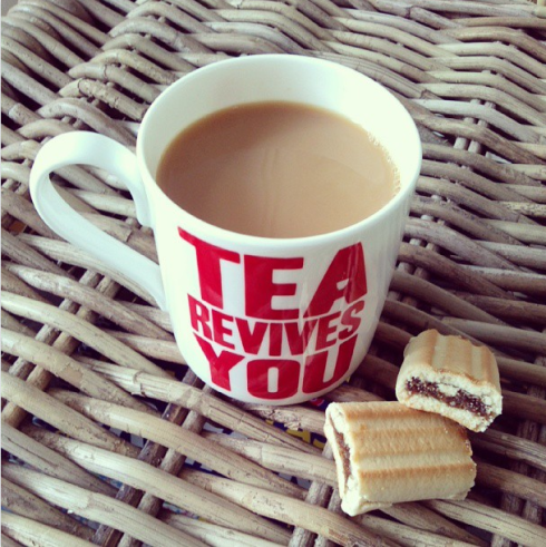 tea revives you