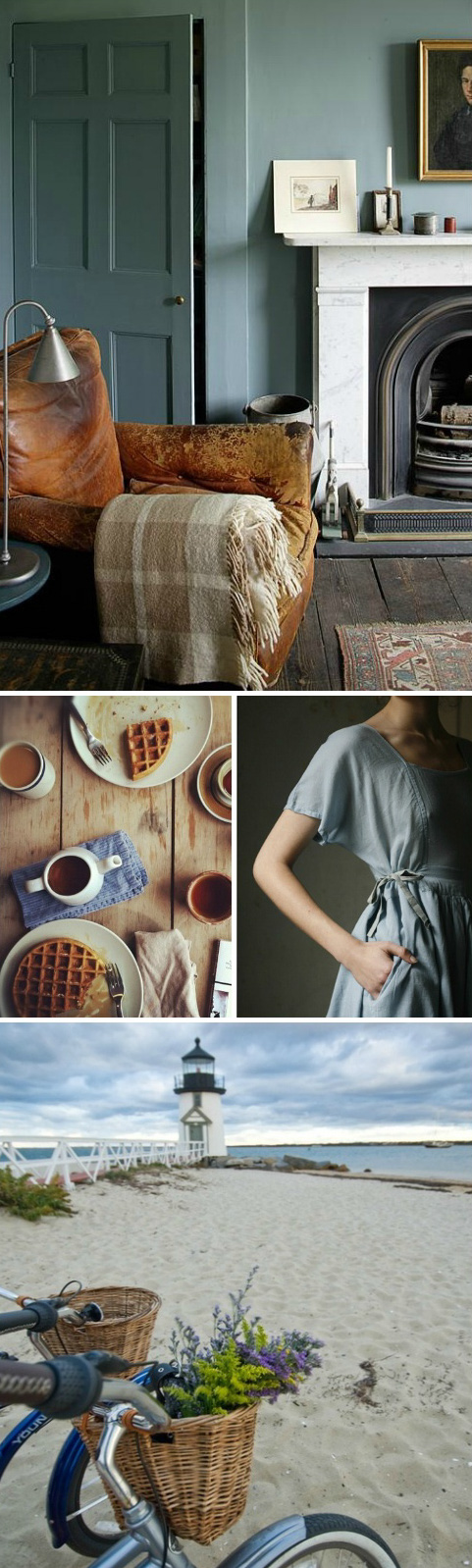 late summer moodboard by Decorator's Notebook blog