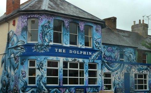 the dolphin wellington mural