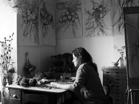 artist Natasha Clutterbuck by Andrew Montgomery