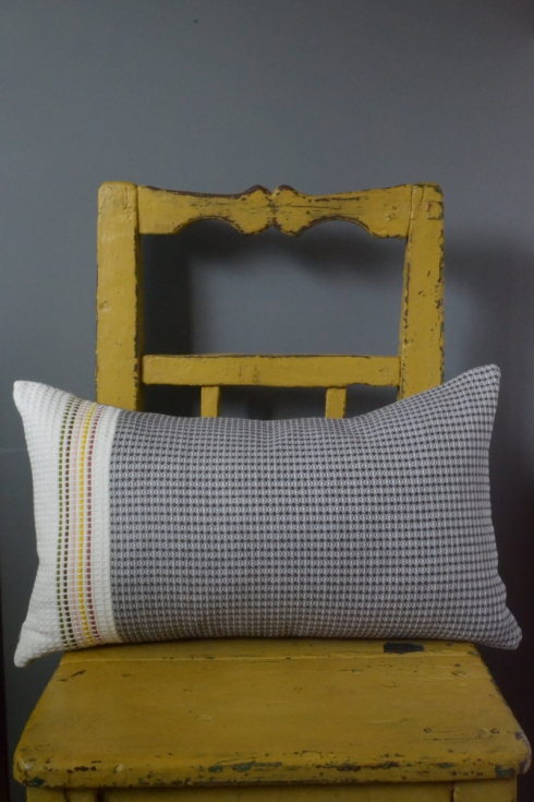 Burren Waffle cushion - £60 - Decorator's Notebook Shop