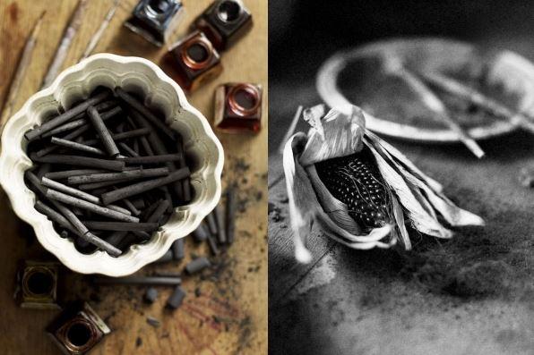 charcoal Natasha Clutterbuck studio by Andrew Montgomery