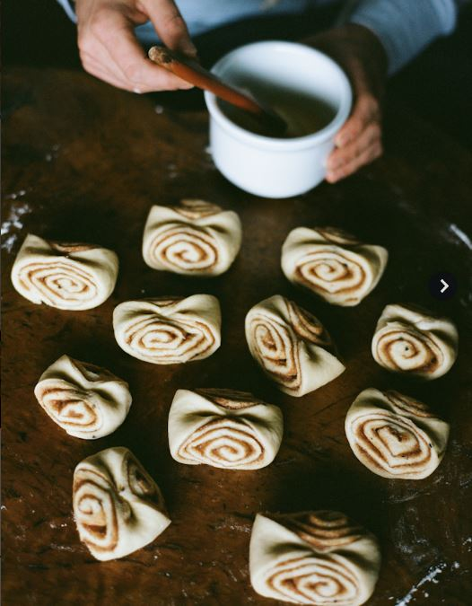 cinnamon buns recipe Kinfolk