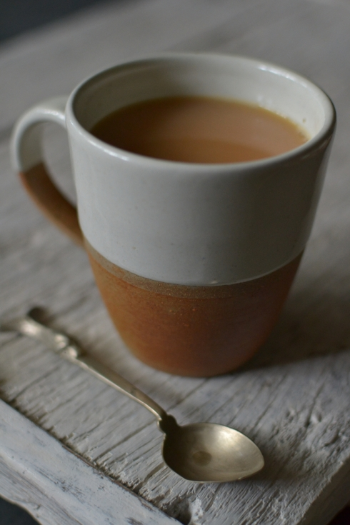 Dipped terracotta mug - £12.95 - Decorator's Notebook Shop