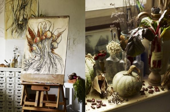 Natasha Clutterbuck studio by Andrew Montgomery