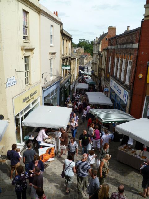 St Catherines Hill shops Frome