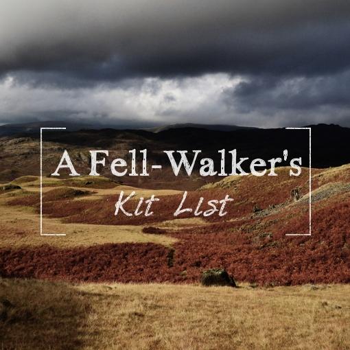 a-fell-walkers-kitlist