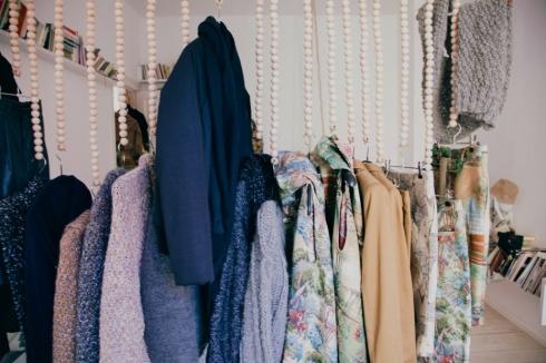 clothes storage for open plan apartment Freunde von Freunden