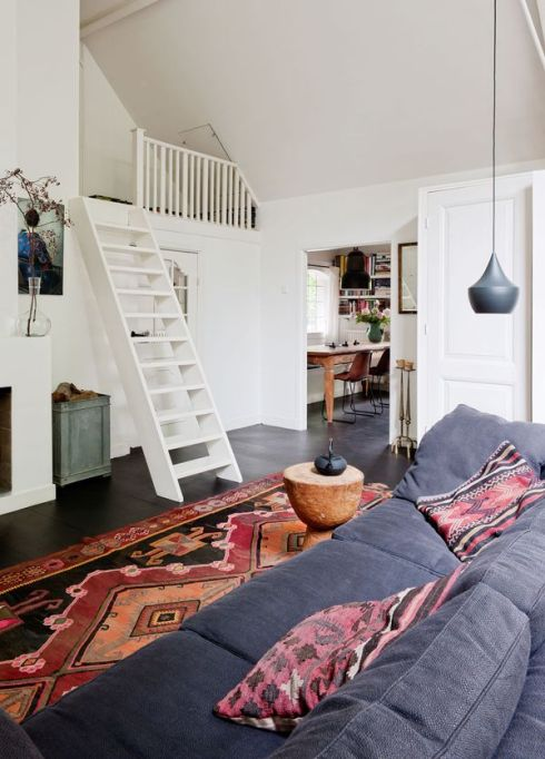Dutch home with mezzanine VT Wonen