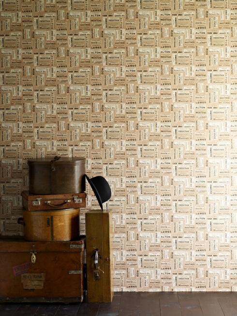 Ephemera wallpaper by Linwood Harrys Journey