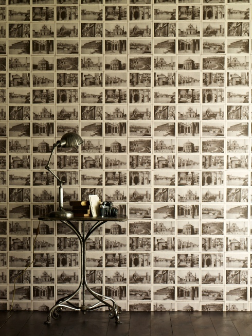 Ephemera wallpaper by Linwood Honeychurch