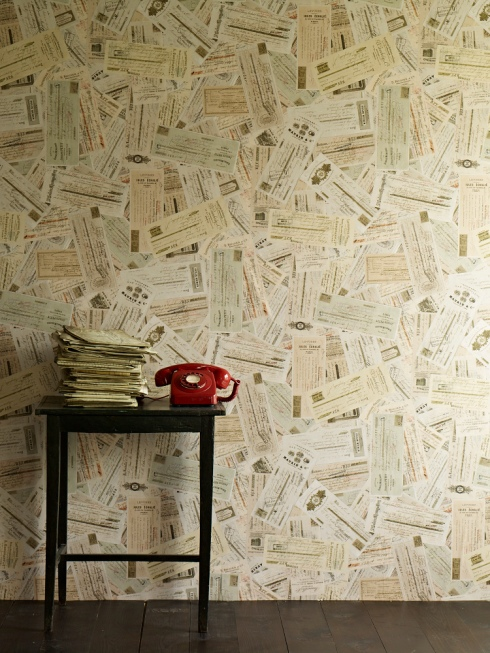 Ephemera wallpaper by Linwood Skills to Pay the Bills