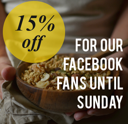 15 percent off for Decorator's Notebook Facebook fans