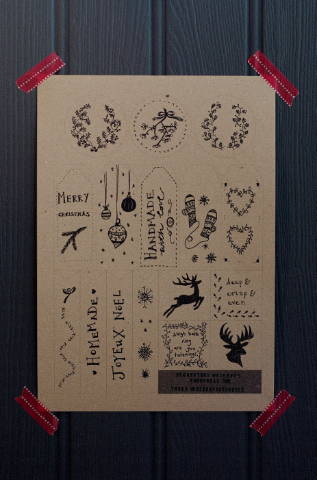16 free gift tags to download and print